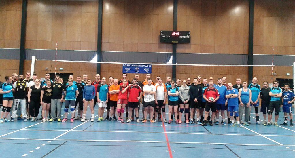 Tournoi volley inter-comites Bolbec