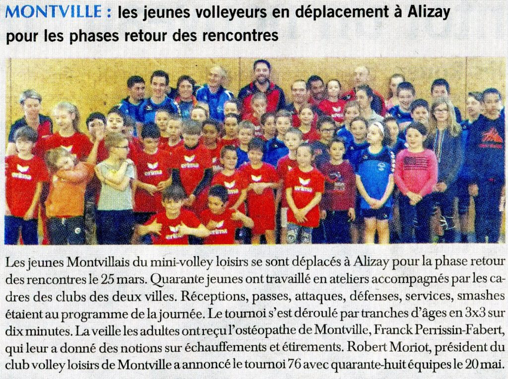 Mini-volley Montville