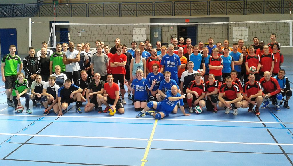 Grand tournoi de Volley sur Rouen